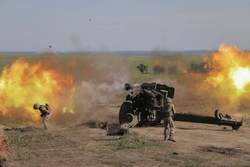 Украинские боевики обстреляли управляемыми ракетами окрестности аэропорта в Донецке. Фото: штаб ООС