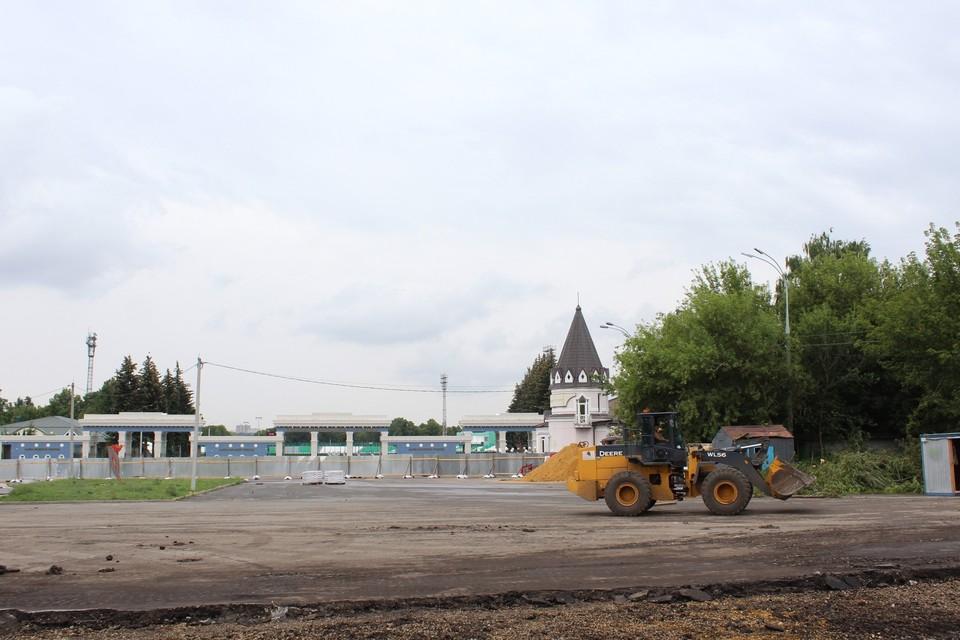 В Орле приступили к реконструкции площади Жукова