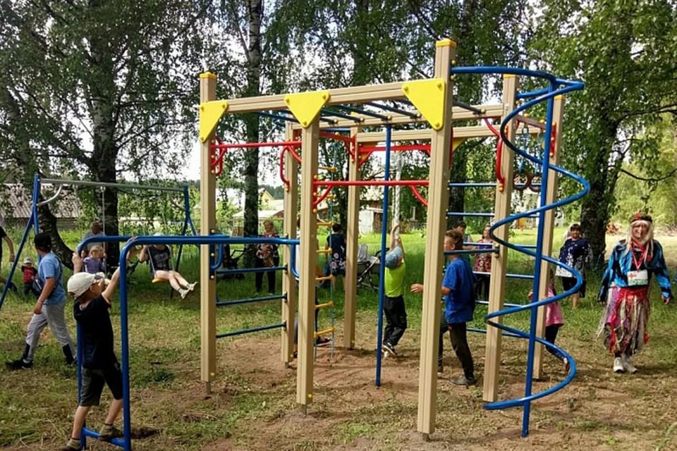 Выделенные средства планируют потратить в том числе на строительство детских площадок. Фото: kirovreg.ru