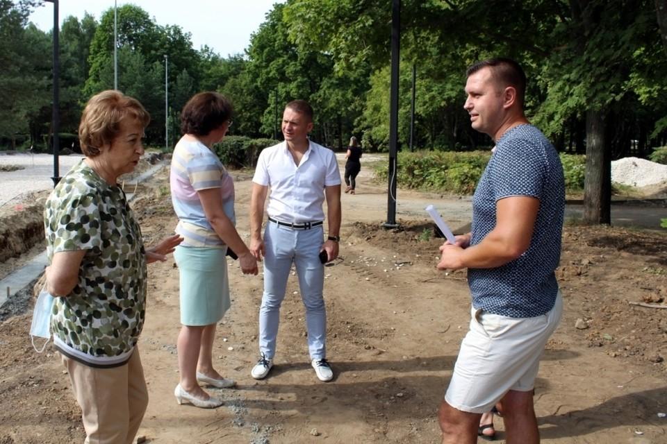 Депутаты гордумы усилили контроль за работами в общественных пространствах. Фото: пресс-служба Рязгордумы.