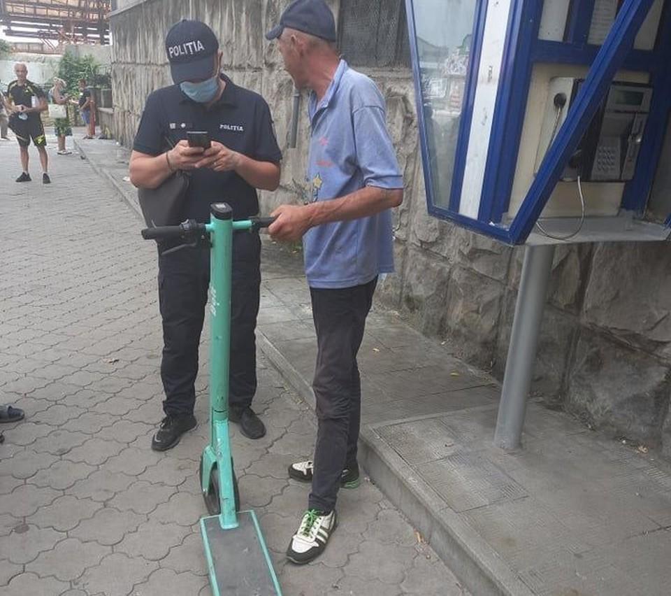 Мужчину, пытавшегося продать украденный электросамокат, задержали. Фото: соцсети
