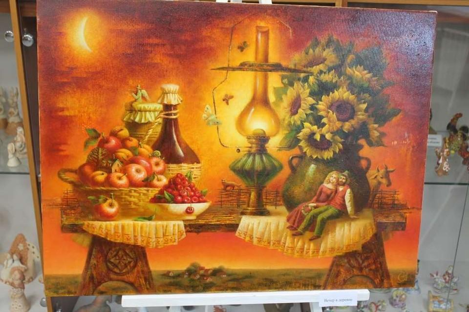 В Одоеве Тульской области откроется выставка живописных работ