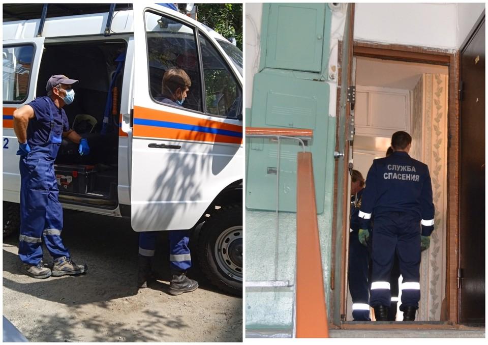 Фото: спасателей вызвали в квартиру на улице Мебельной в Челябинске. Фото: Управление по обеспечению безопасности жизнедеятельности населения