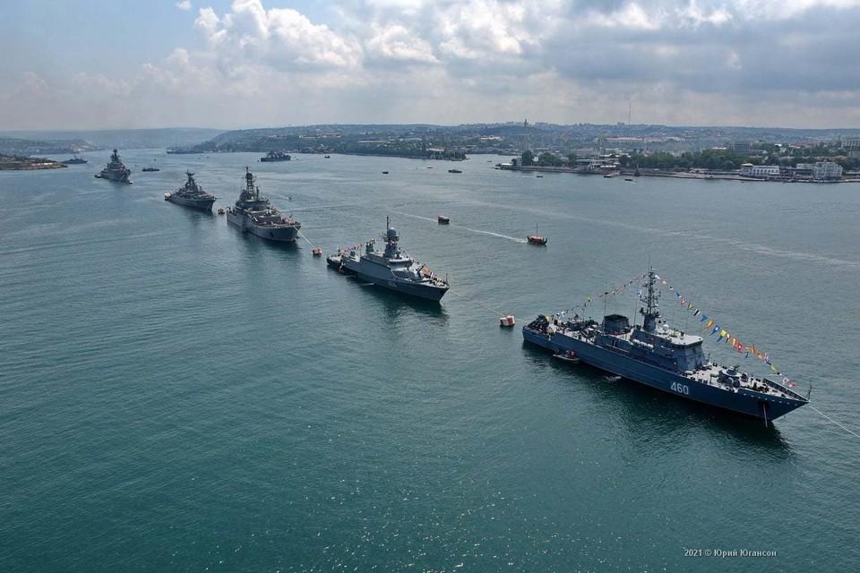 В 2021 году День ВМФ в Севастополе будет отмечаться без массовых гуляний и без салюта