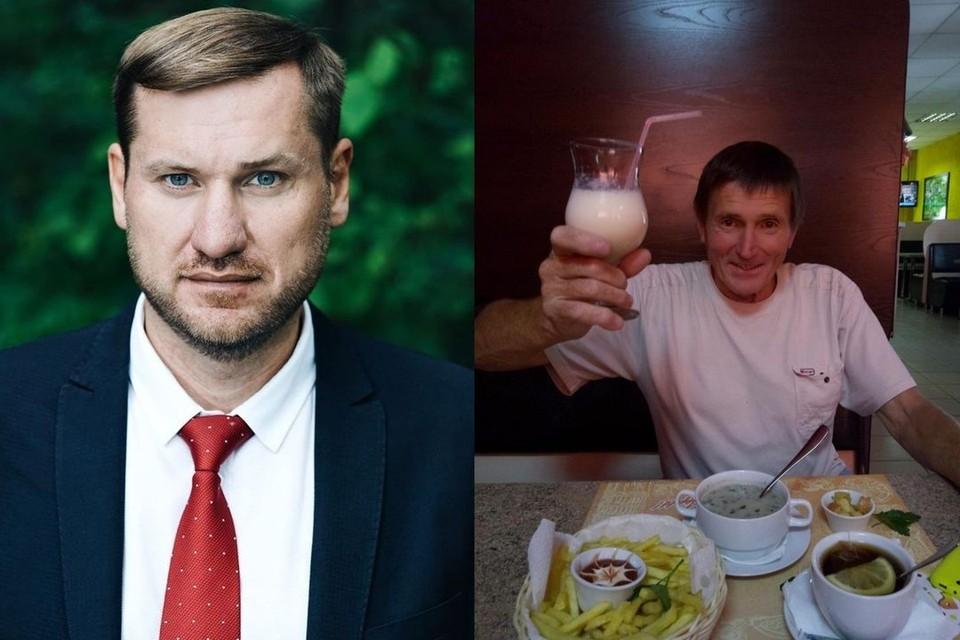 Отец и сын оказались по разные стороны политических баррикад.