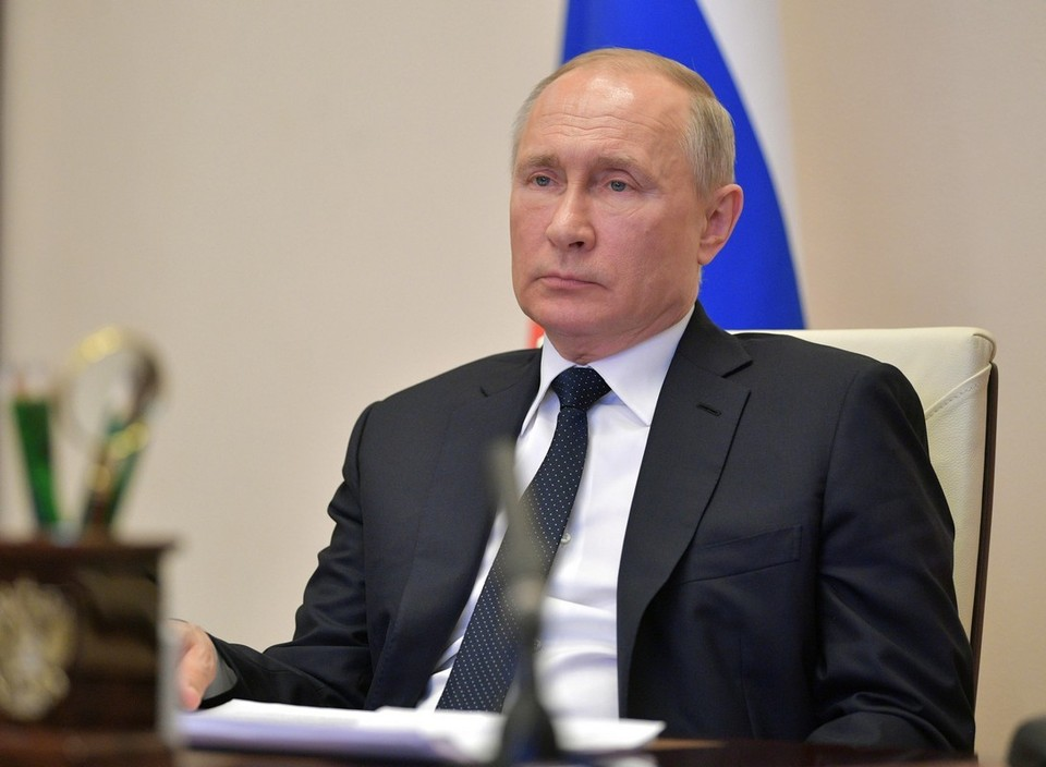 Путин обсудил ситуацию в Афганистане с президентом Таджикистана