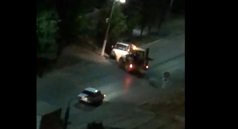 """фото: кадр из видео, видео группы """"Тула Жесть"""""""