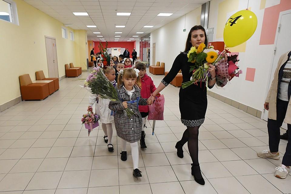 Первого сентября в Ленинградской области откроются две новых школы. Всего же до конца года в регионе свои двери распахнут шесть новых учебных заведений. Фото: пресс-служба администрации Ленинградской области.