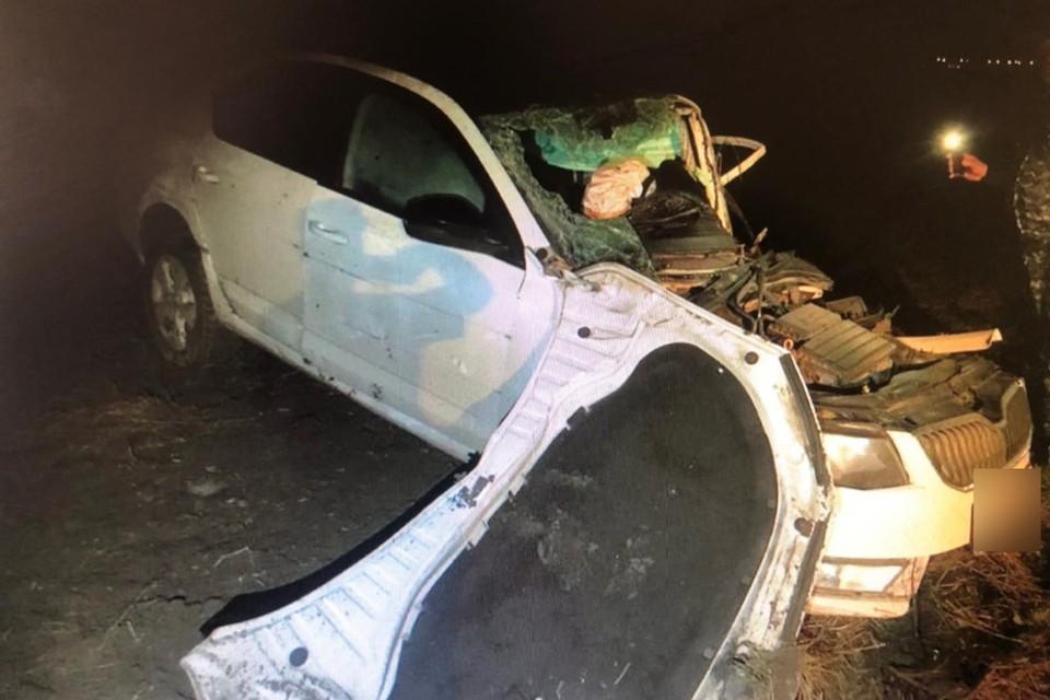 Смертельная авария произошла глубокой ночью. Фото: отдел пропаганды УГИБДД по Ростовской области
