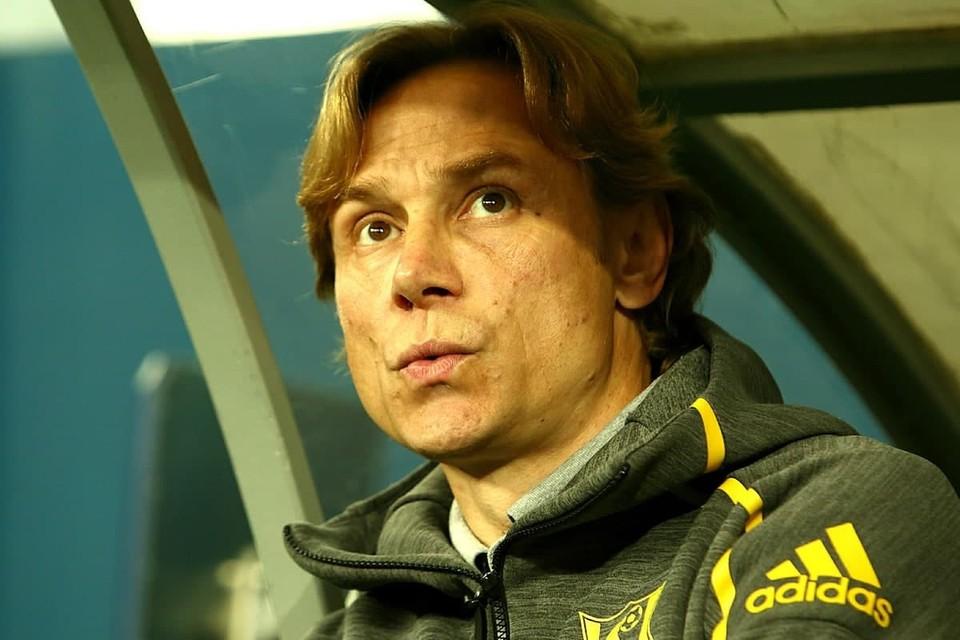 Валерий Карпин стал главным тренером сборной России по футболу