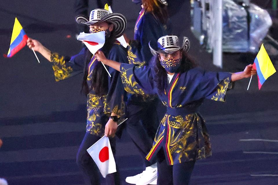 Состоялась церемония открытия XXXII Олимпийских игр в Токио.