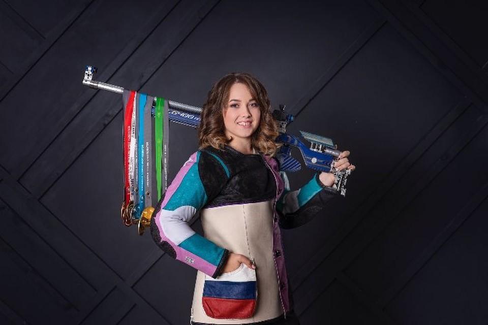 Анастасия Галашина выступила в финале олимпийских игр в Токио. Фото: со страницы ВКонтакте Анастасии Галашиной