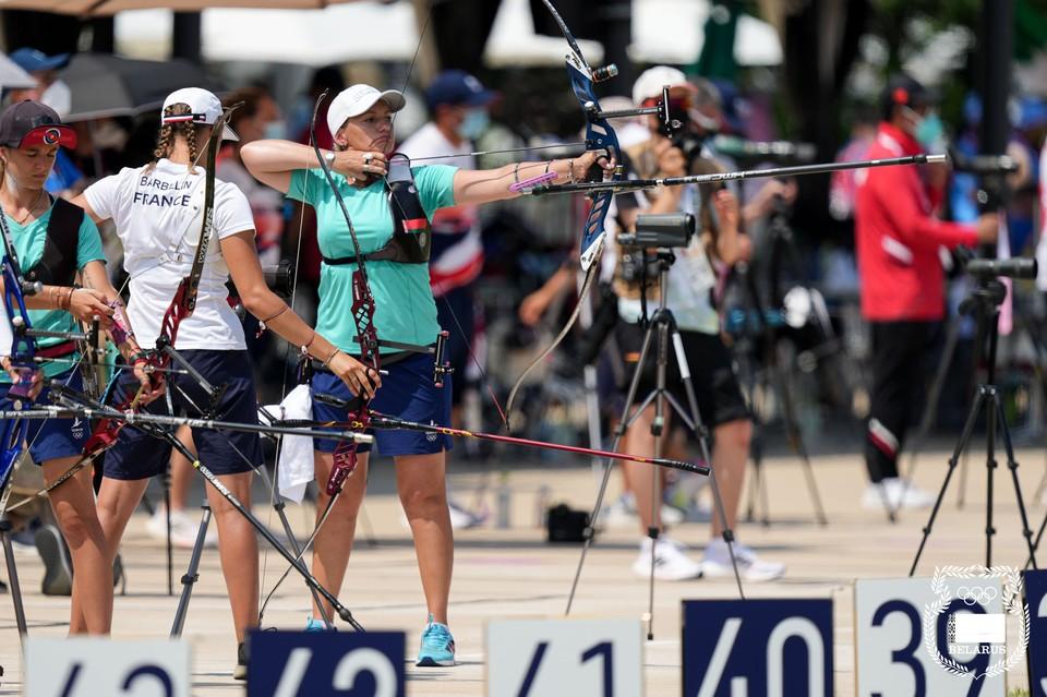 Белорусские лучницы остановились в шаге от медалей. Фото: НОК Беларуси