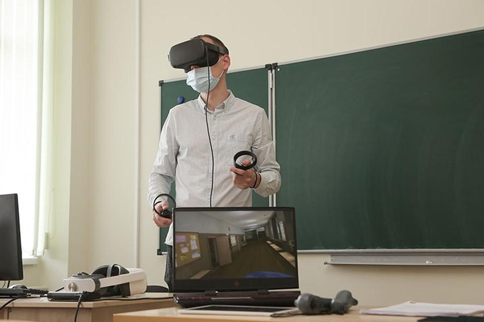 Виртуальная реальность и эффект «полного погружения»: Как теперь будут проходить уроки в нижегородских школах.