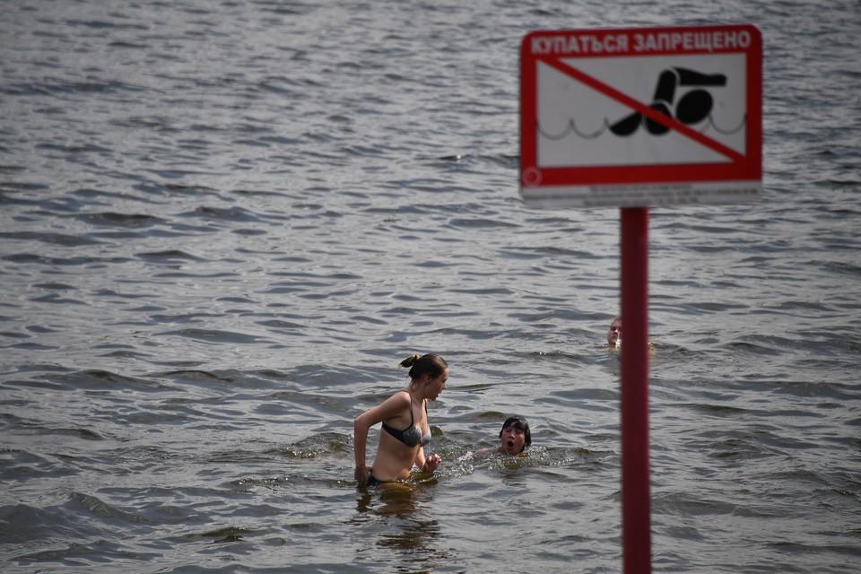 Волгоградцам запретили купаться и загорать на острове Сарпинский