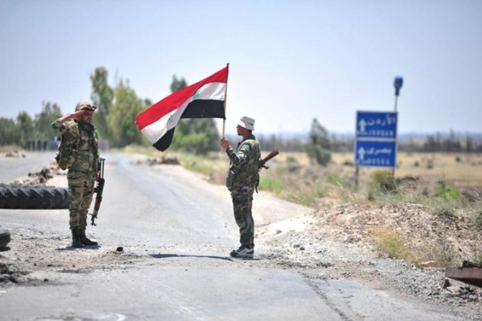 Боевики обстреляли позиции армии Сирии