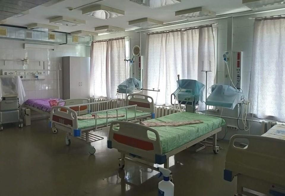 В случае сомнительного или положительного результата пациентку размещают в изоляторе Фото: Минздрав Амурской области