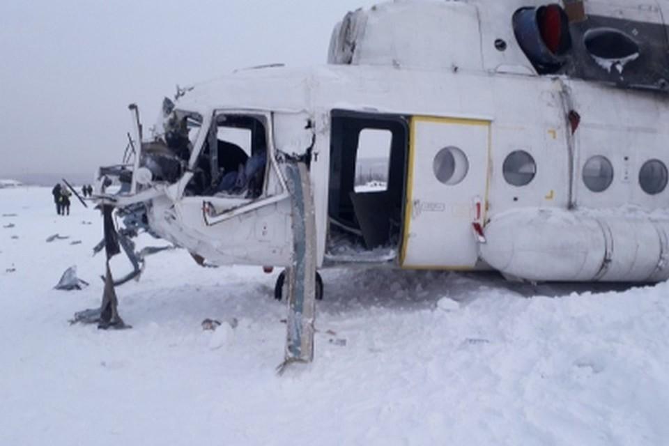 В Красноярском крае осудили пилота, по вине которого разбился вертолет и покалечились два пассажира. Фото: следком на транспорте