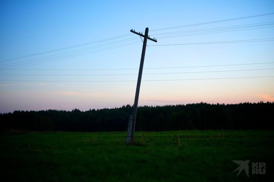 В шести районах Рязанской области 1 сентября отключат электричество.