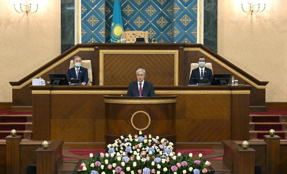 Касым-Жомарт Токаев выступил с обращением народу Казахстана