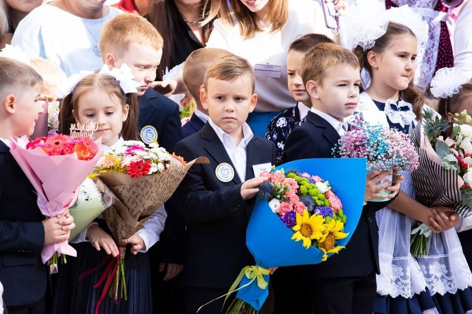 В Липецке более 60 тыс. ребят пошли в школы