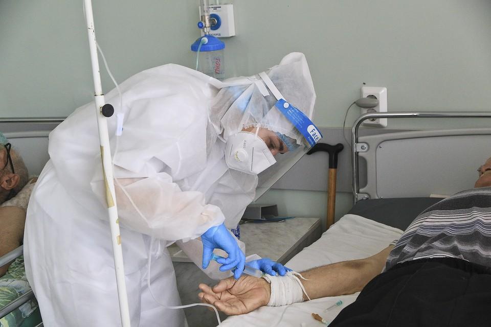 Пока заболеваемость на Сахалине на спад не идет