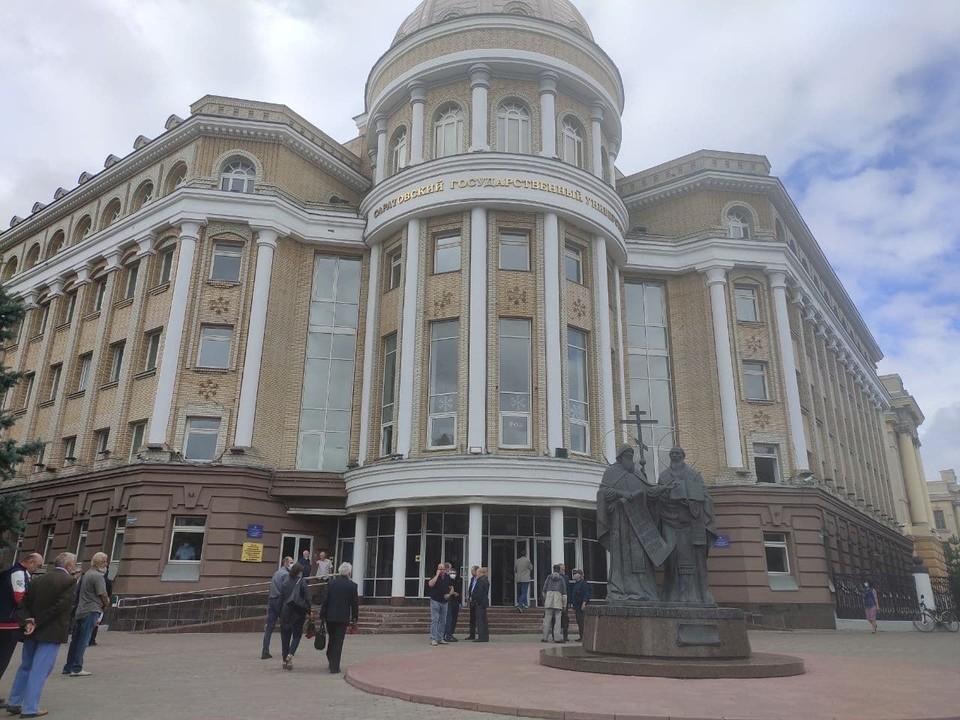 Саратовский национальный исследовательский университет упоминается в рейтинге первым из местных ВУЗов