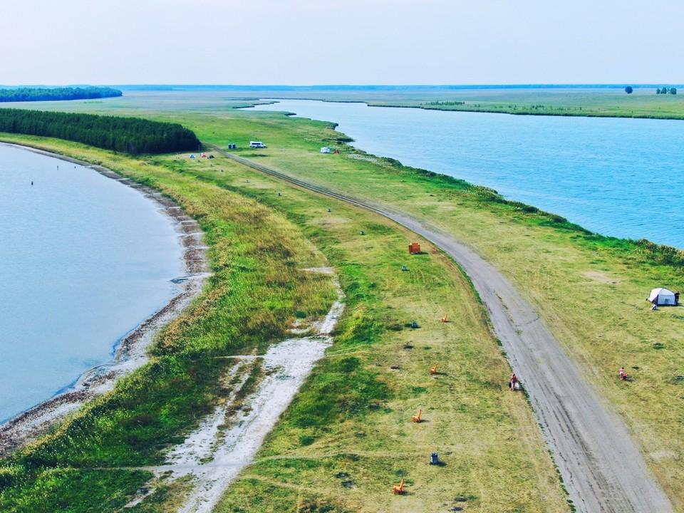 Отдыхающие сразу заметили разницу и высоко оценили преображение озера Солёного