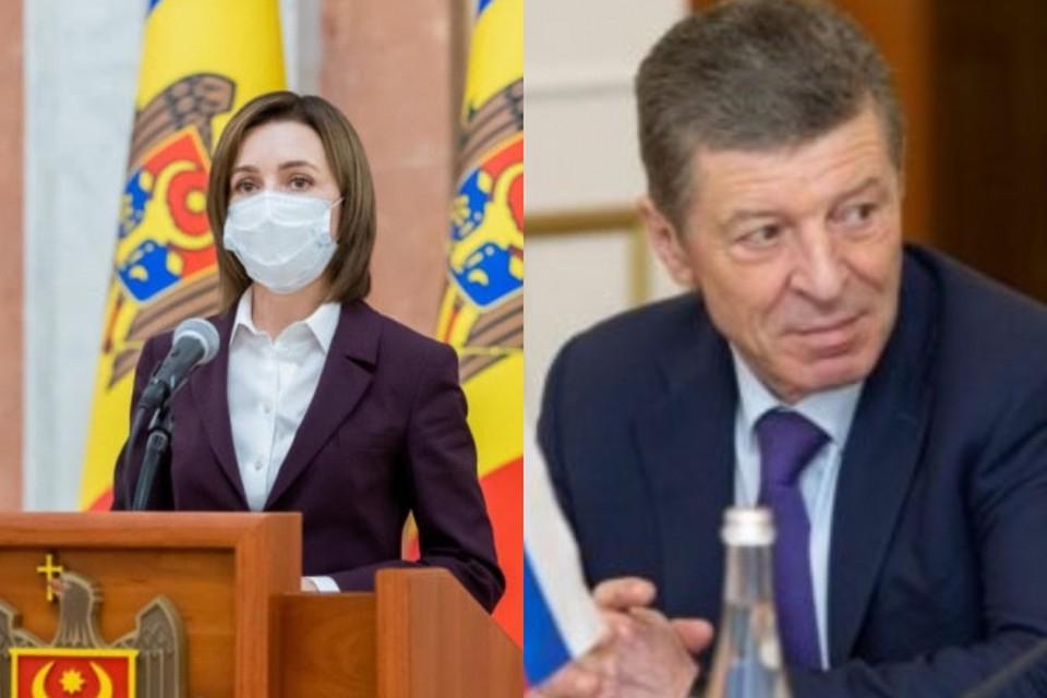 Устами молдавского президента Майи Санду Кишинев обещал Дмитрию Козаку, что никаких блокад не будет. Фото:mejdurecie.md