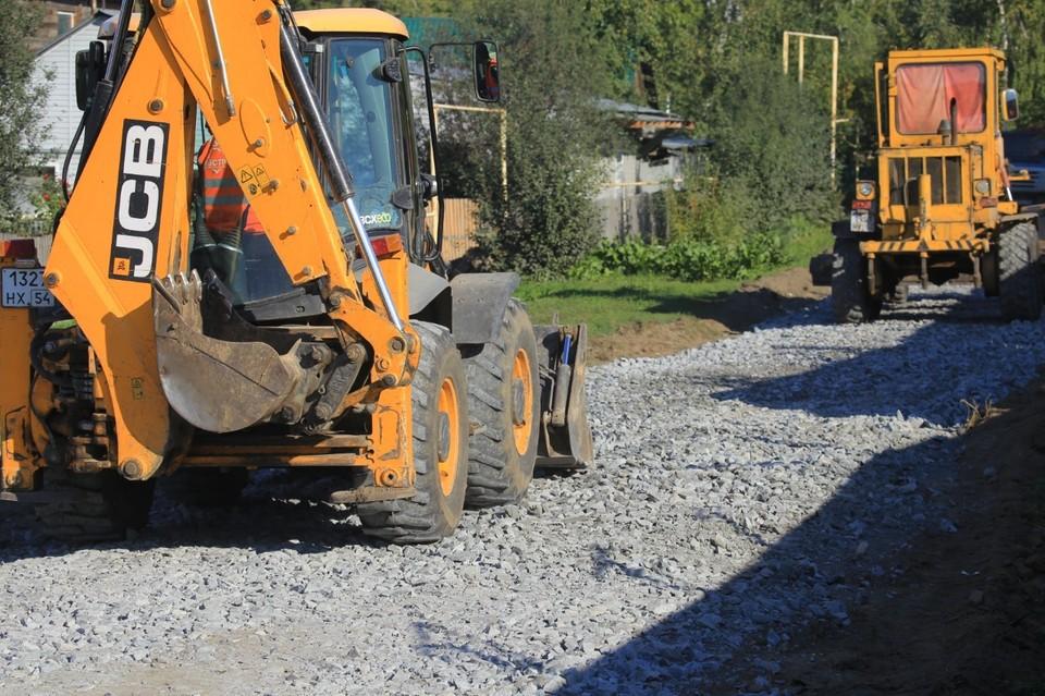 В частном секторе Новосибирска за счет муниципального и областного бюджетов будет отремонтировано 94 участка дорог. Фото: Мэрия Новосибирска