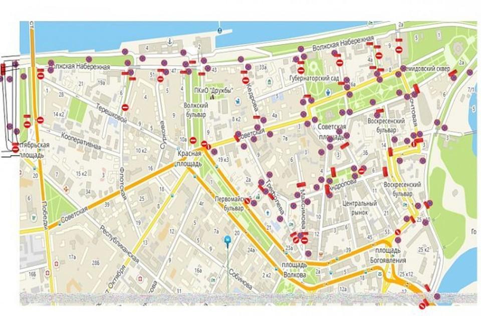 В городе с 6 до 17:30 часов ограничат движение для машин.