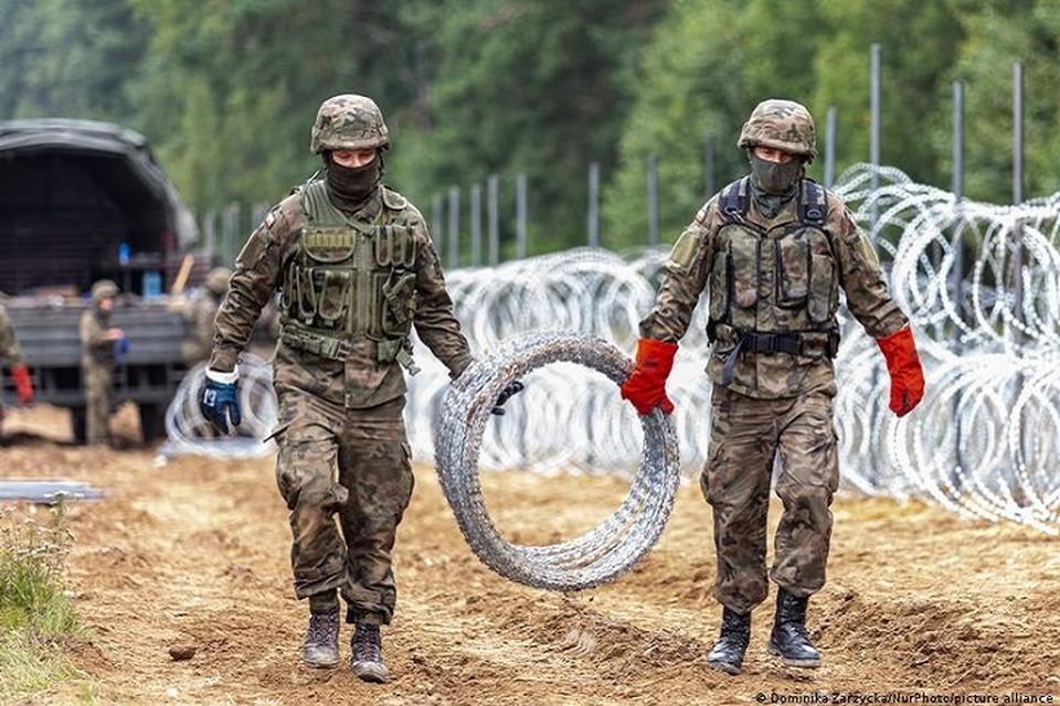 МИД Беларуси прокомментировал введение чрезвычайного положения Польшей. Фото: Dominika Zarzycka   NurPhoto-picture alliance