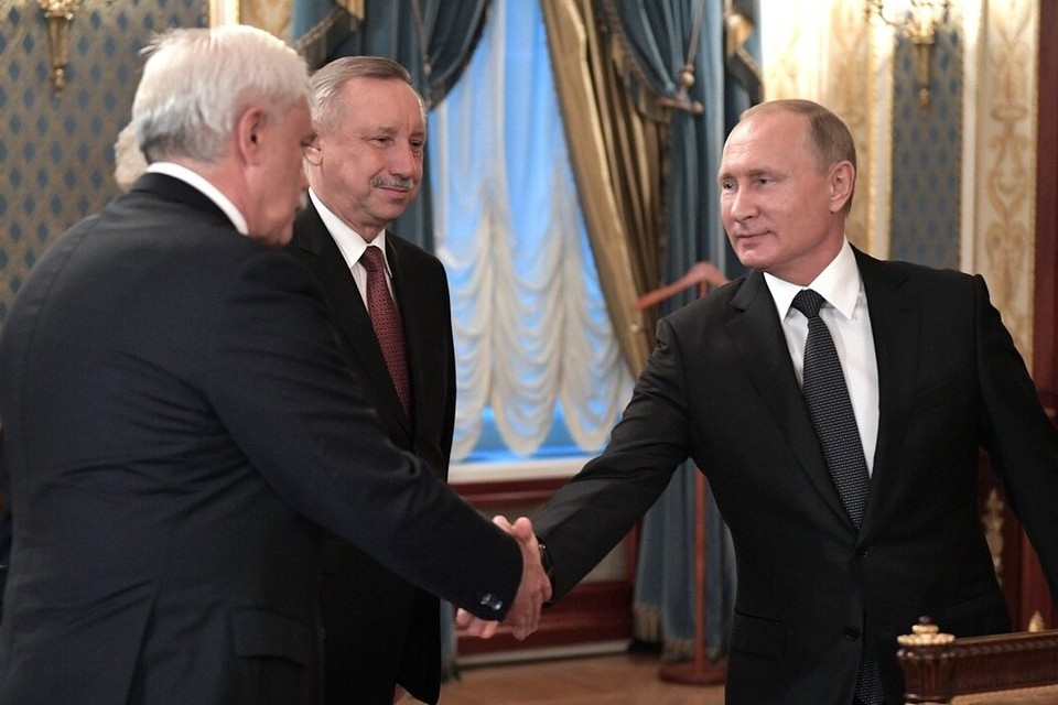 В Петербург планирует приехать Владимир Путин. Возможно, 12 сентября. Фото: администрация президента РФ (архив)