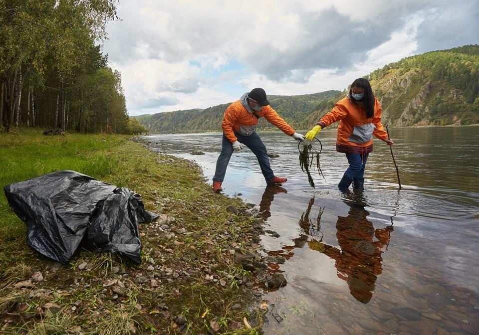 Очистить смотровую Красноярскую ГЭС: En+Group проведет экоакцию проекта«360». Фото: En+Group