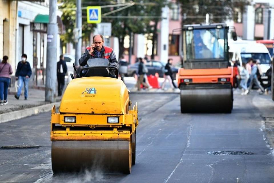 Ремонт улицы Комсомольской городские власти пообещали закончить к 10 сентября
