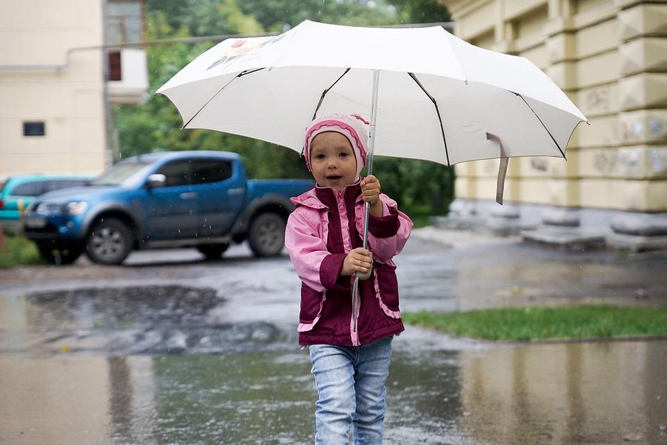 Ветреная погода будет сопровождаться ливневыми дождями