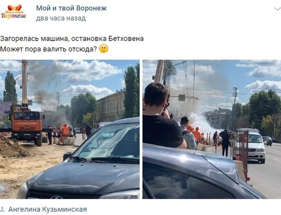 Огонь был достаточно сильный, но, к счастью, обошлось без пострадавших.