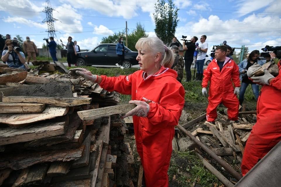 Поставка древесины осуществляется по поручению губернатора области Евгения Куйвашева
