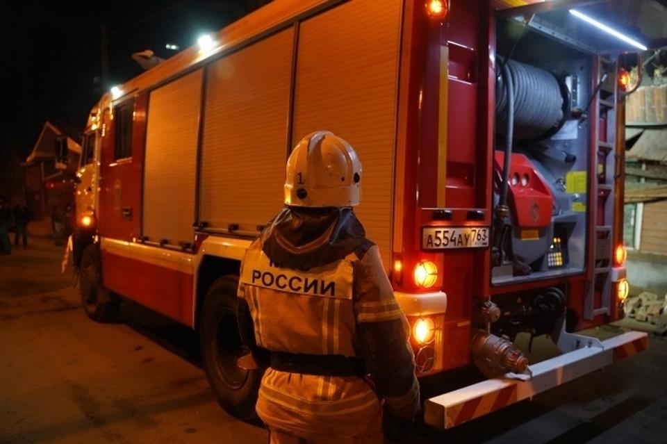 В Новосибирске снова загорелся мусорный полигон на улице Малыгина.