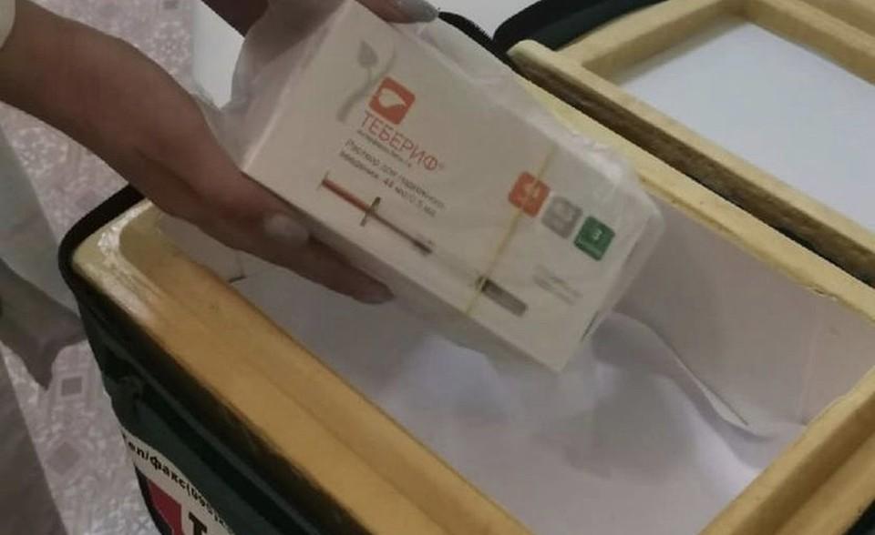 В Смоленске сотрудники поликлиники №8 организовали доставку лекарств для пациентов с ВЗН. Фото: департамент здравоохранения по Смоленской области.