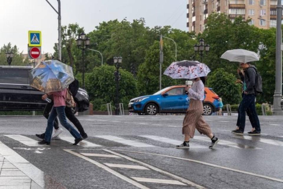 На протяжении практический всей недели ожидаются кратковременные дожди