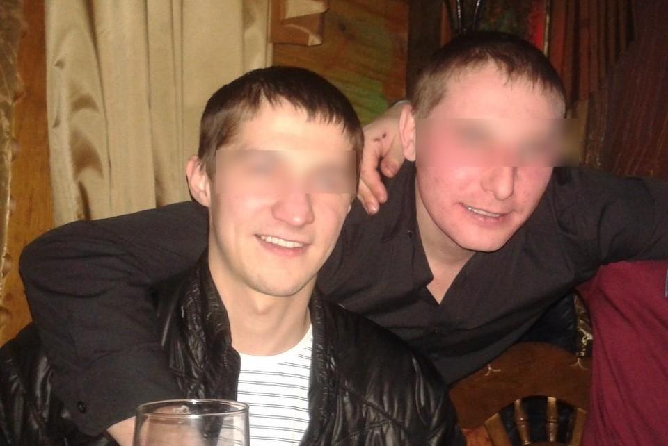 Олег (слева) и Вячеслав были давними друзьями