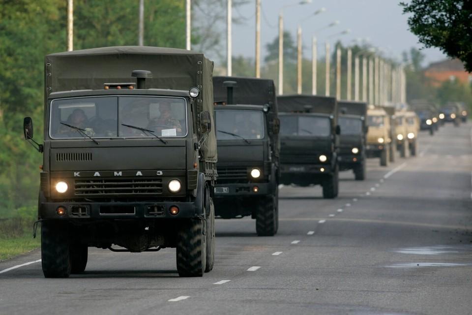 Выделено более 50 единиц военной и специальной техники. Фото: архив «КП»-Севастополь»
