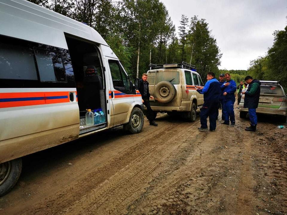 В поисковой операции участвовали спасатели и волонтеры