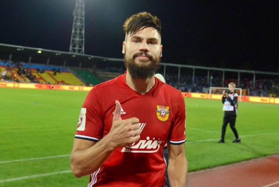 Максим Беляев вернулся в состав тульского «Арсенала»