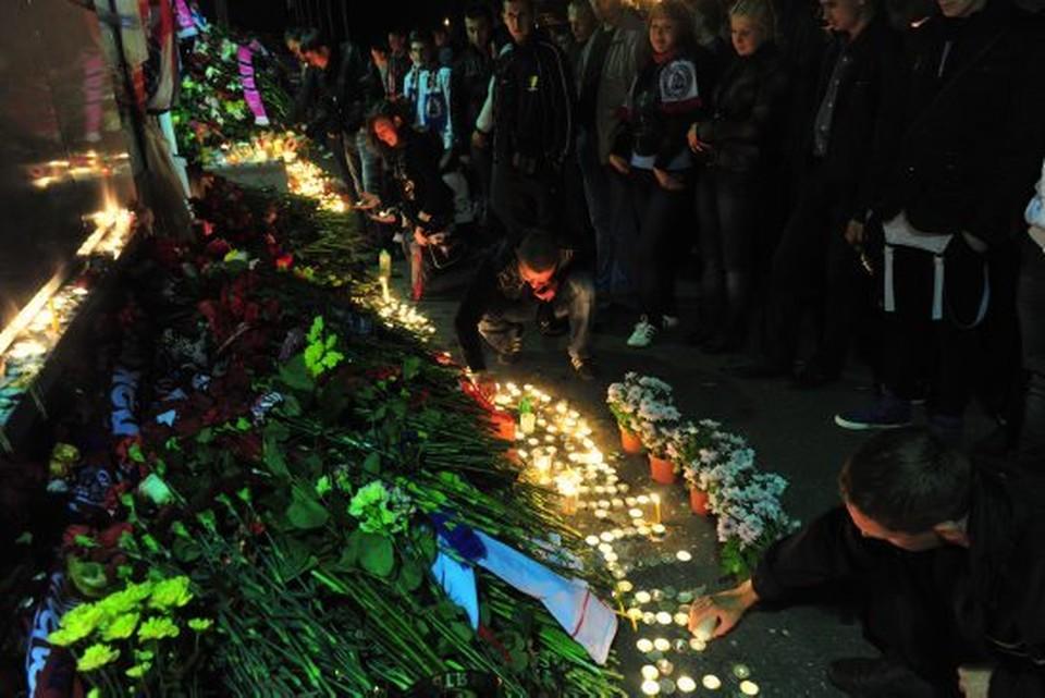 7 сентября исполняется 10 лет со дня гибели «железнодорожников». ФОТО: архив КП