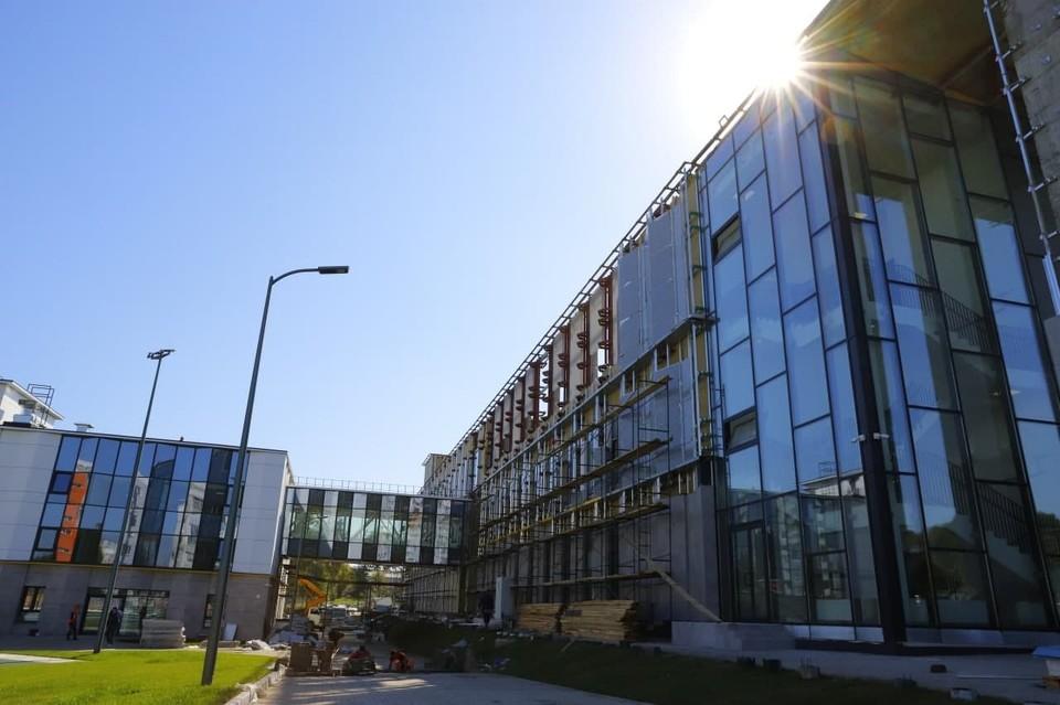 убернатор Кузбасса рассказал о сроках завершения строительства образовательной части культурного кластера. Фото: АПК.