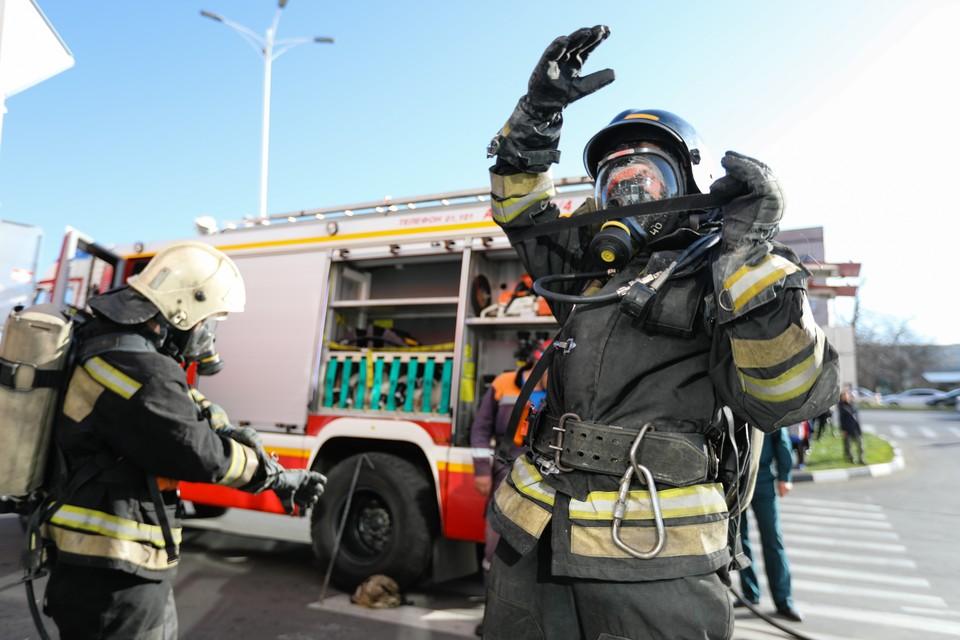 С пламенем боролись в общей сложности около 20 минут