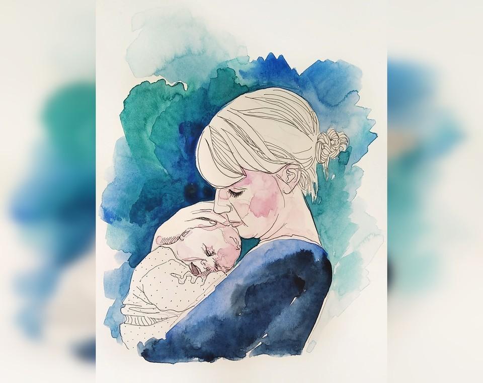 Иллюстратором для книги стала самарская художница Ирина Голикова