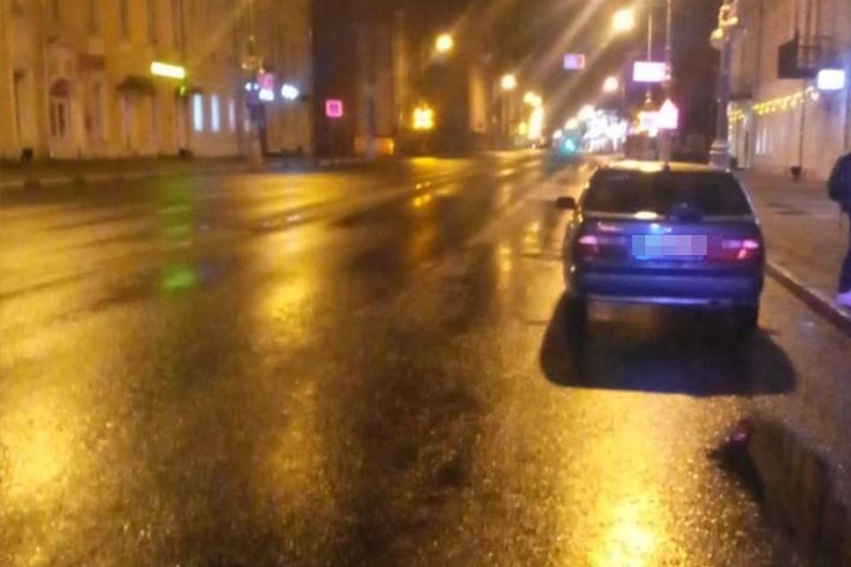 В ДТП пострадал пешеход Фото: УГИБДД России по Тверской области